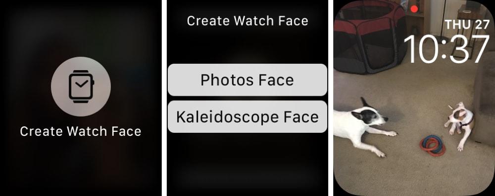 Set Photo Apple Watch Face Photos App