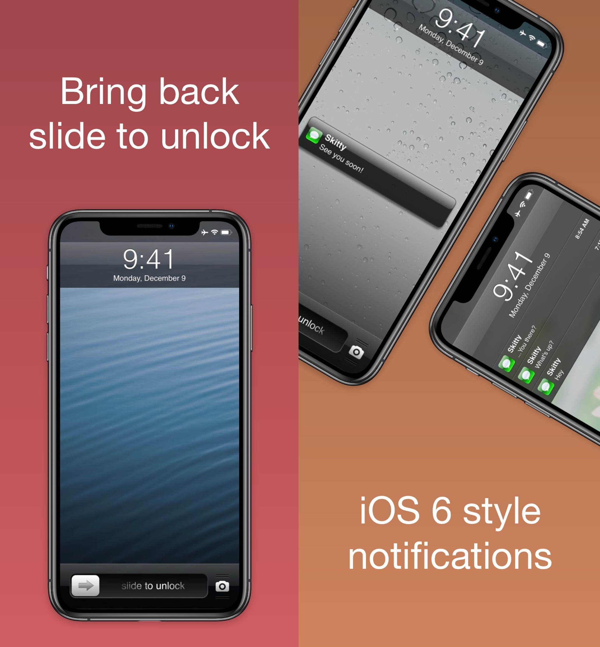 Nostalgic for the classic iOS 6 Lock screen? Try this