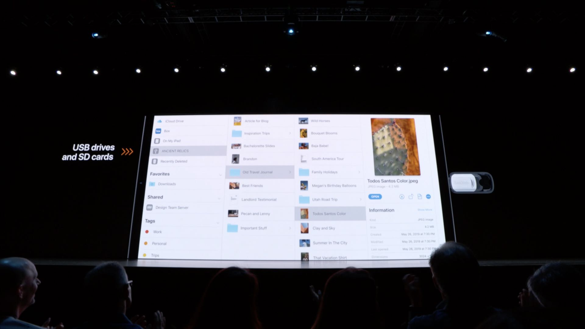 iOS 13 brings a more advanced Files app with Mac-like search