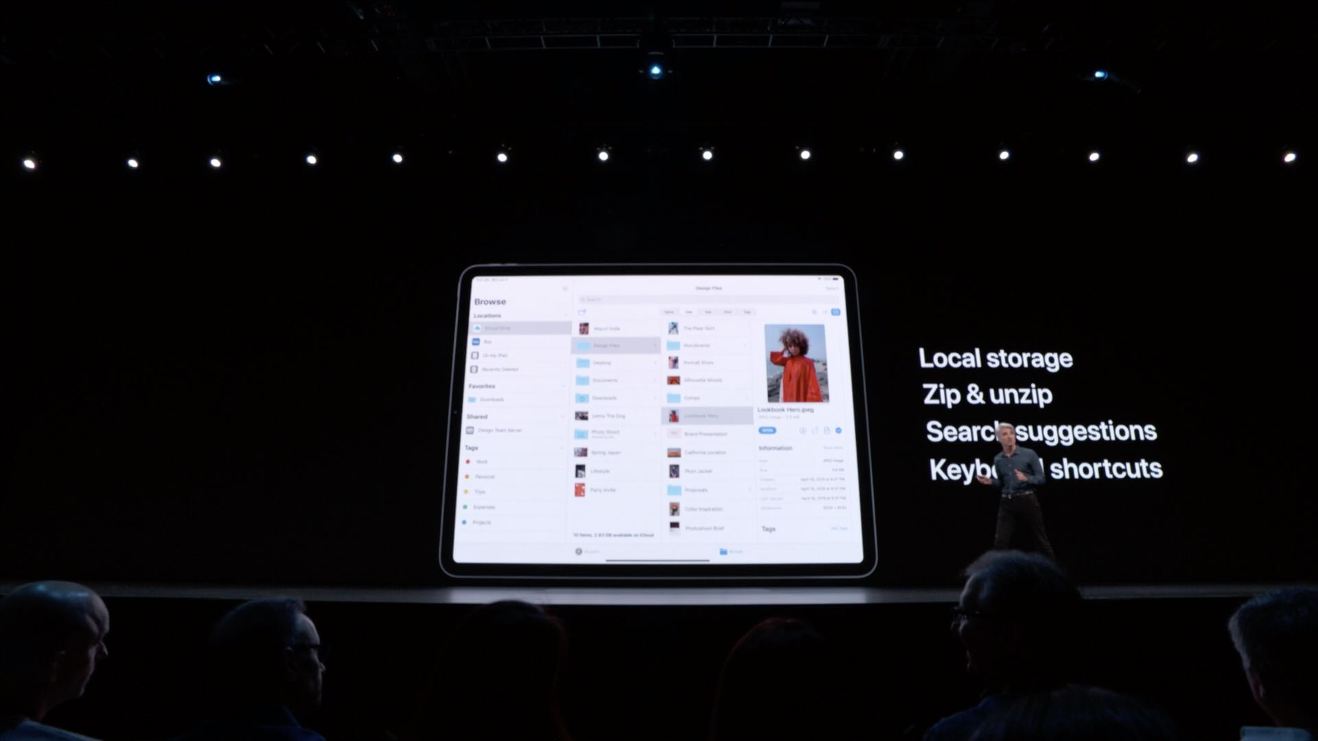iOS 13 brings a more advanced Files app with Mac-like search, ZIP