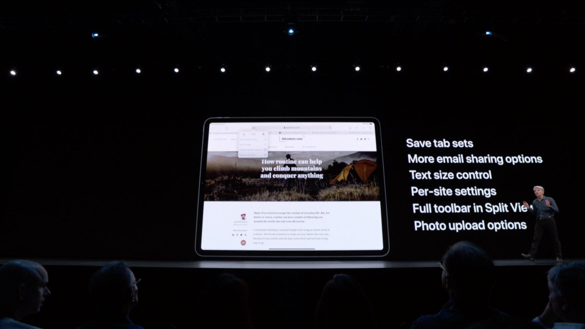 Safari in iPadOS brings desktop websites, but that's only