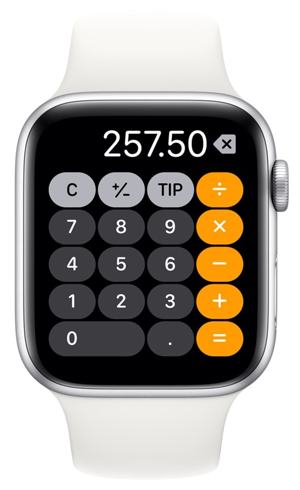 Apple Watch split bills