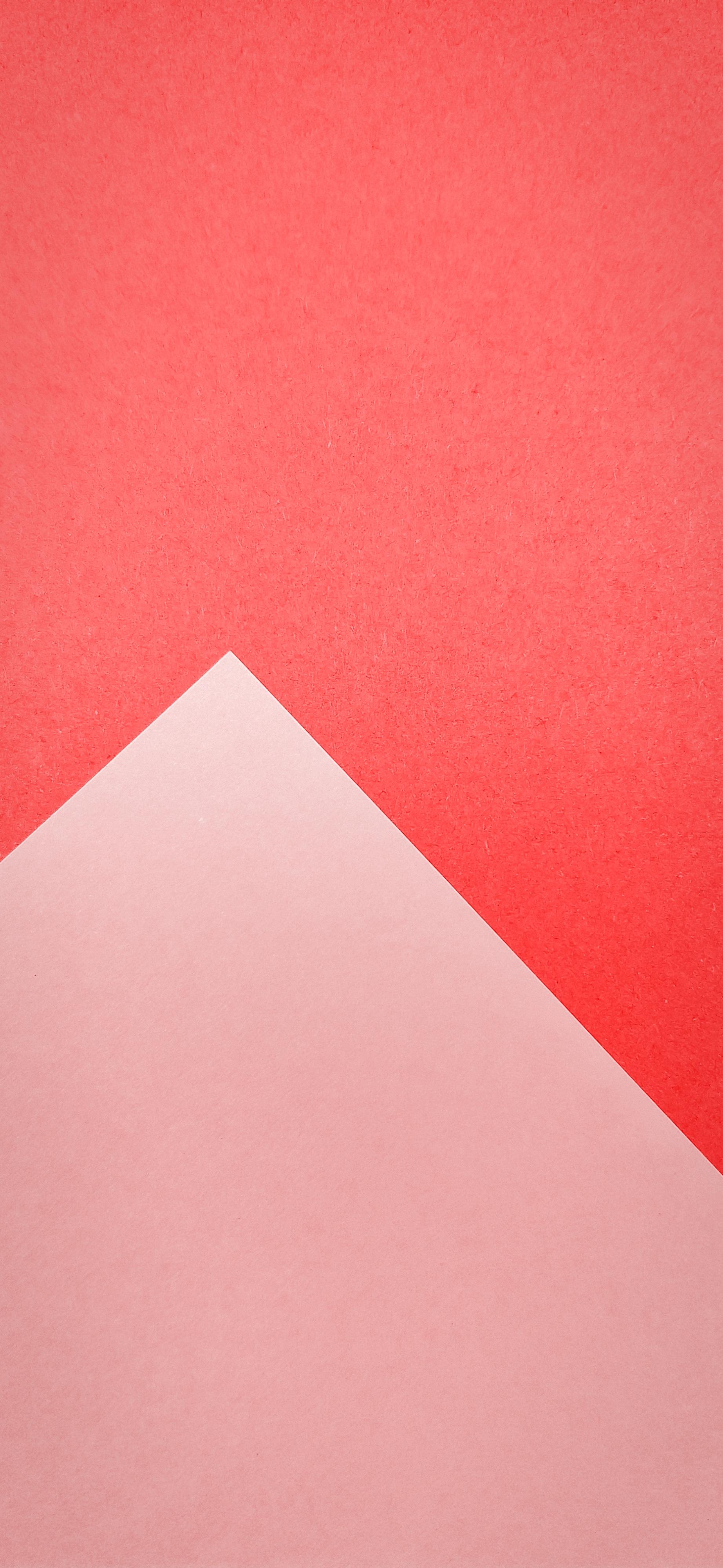 coral geometric wallpaper IPHONE X, XR, XS, XS MAX - V86 - JFL