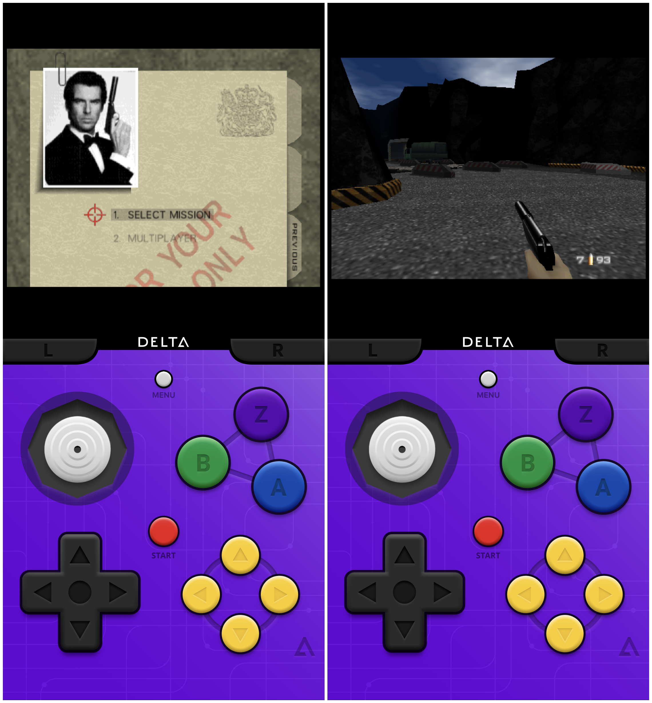 Delta emulator updated to Beta 8, now with Nintendo 64 support
