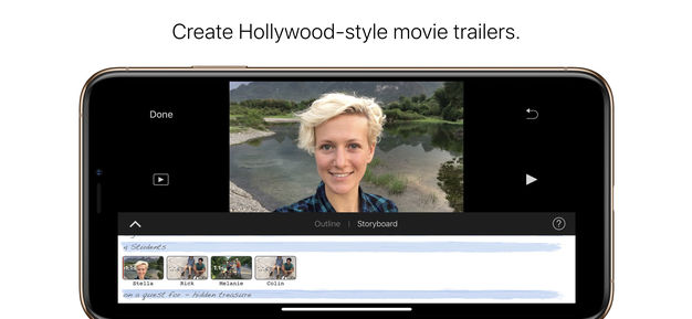 iMovie for iOS adds green screen effect, 80 new soundtracks