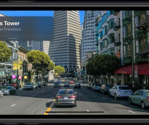 Look Around lets you see a street while using Maps in iOS 13