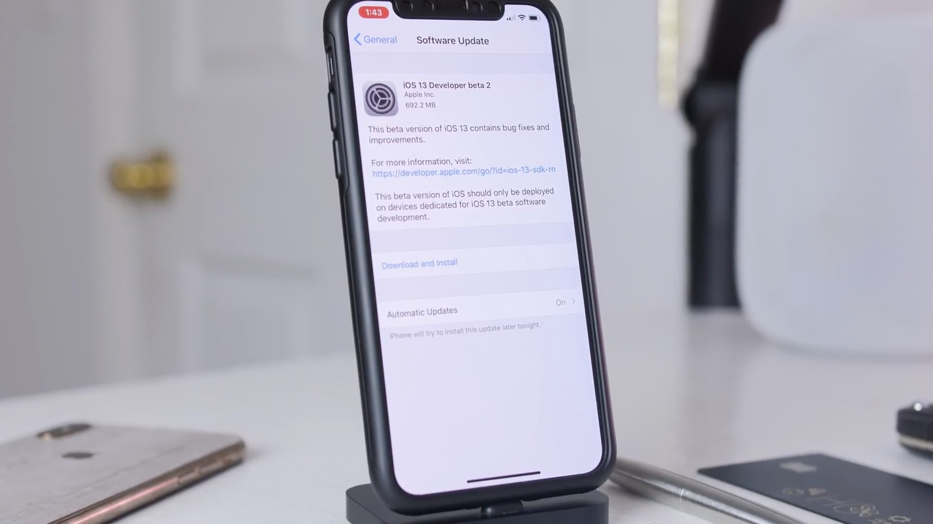 Files & Camera improvements and other changes in iOS 13 beta 2