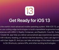 iOS 13 get ready