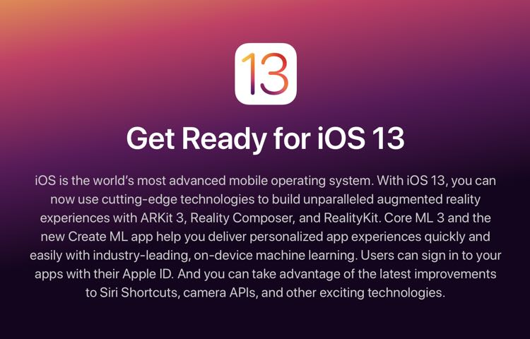 Learn about the new features of iOS 13 on iPhone and iPad