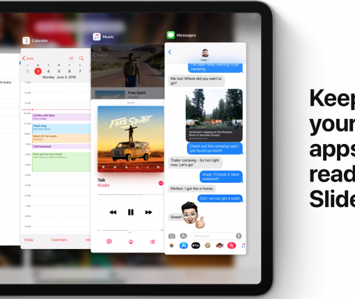 Apple improves multitasking in iPadOS