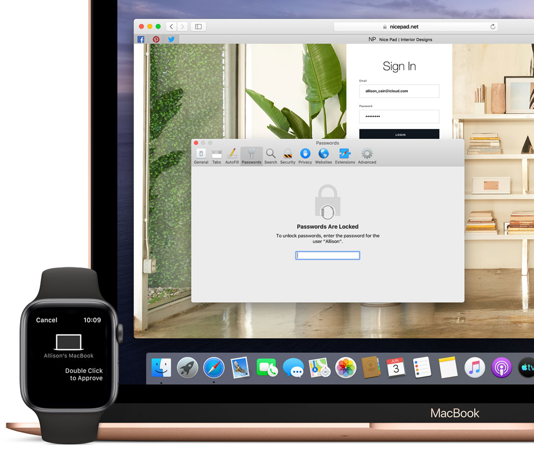 Using the Apple Watch to authenticate even more in macOS Catalina