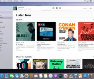 Apple Podcasts app for macOS Catalina