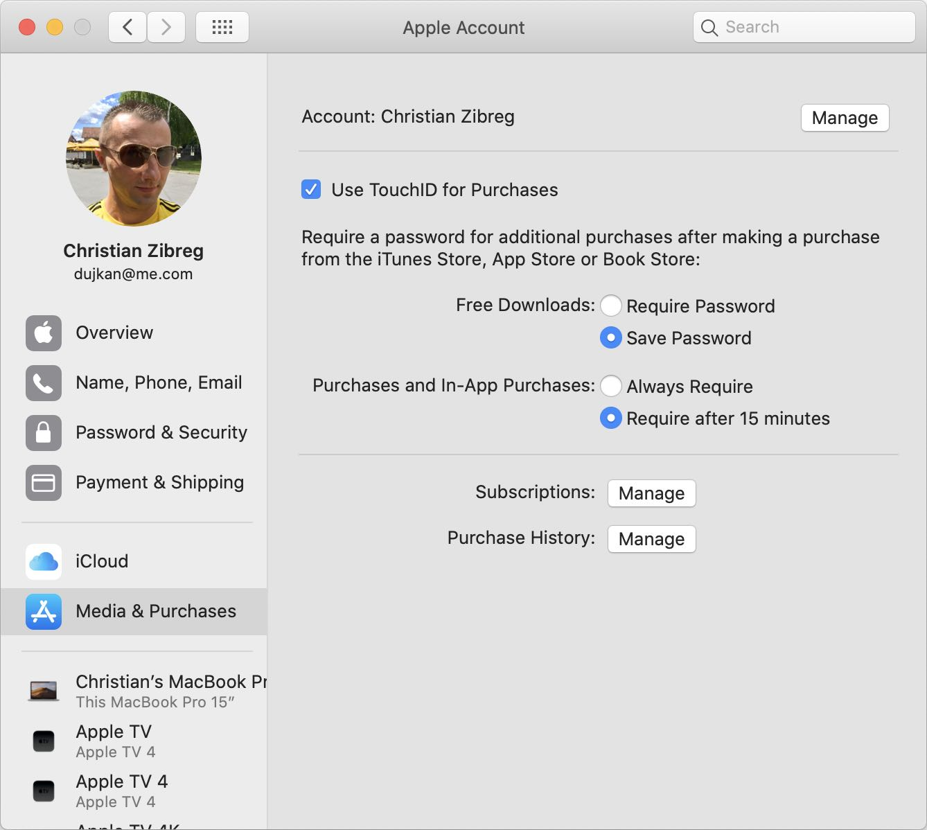 How to change apple id on a mac pro