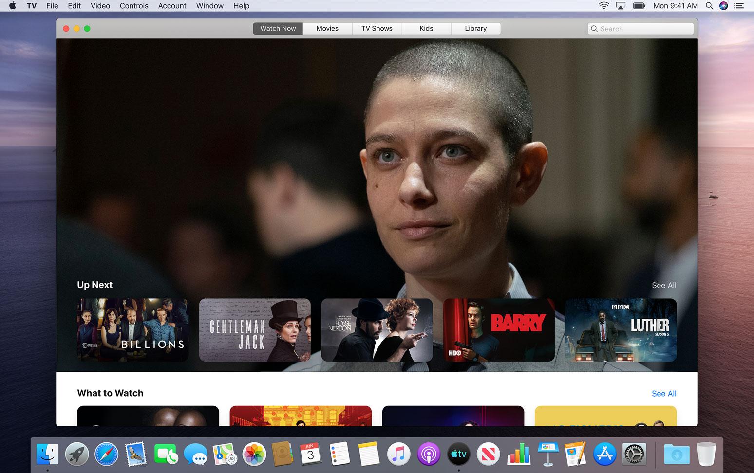 Apple TV app for macOS Catalina