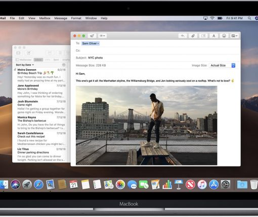 macOS Mojave Mail app