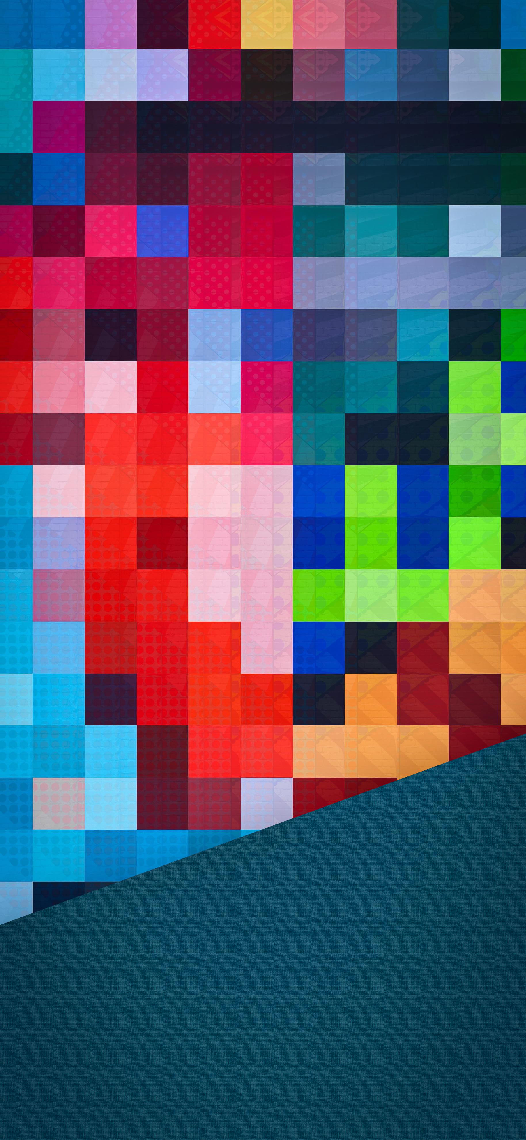 patchwork wallpaper IPHONE X, XR, XS, XS MAX, 1PLUS 6T - V121 - JFL