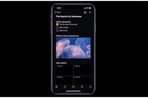Notes in iOS 13 adds a gallery view, shared folders, and more