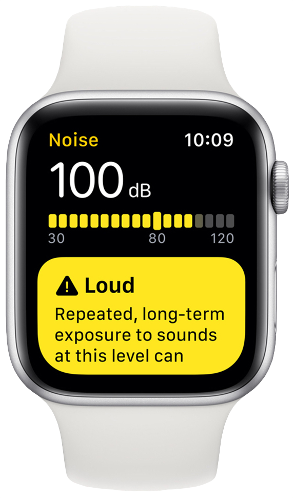 How to use the new decibel meter on Apple Watch in watchOS 6