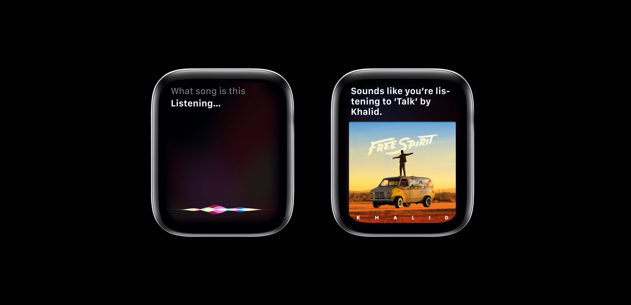 Siri on watchOS 6 lets you find apps, identify songs and search