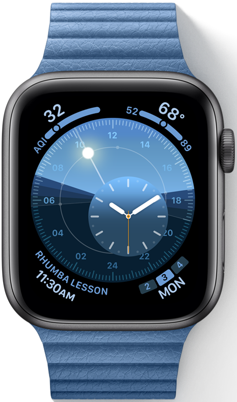 Apple introduces a new Solar watch face in watchOS 6
