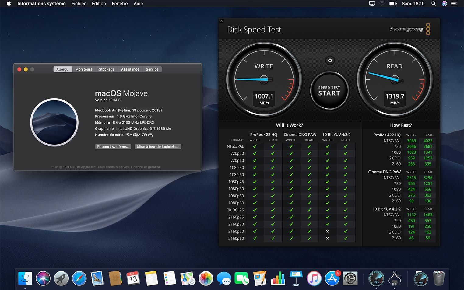 2019 256GB MacBook Air has a slower SSD than 2018 model