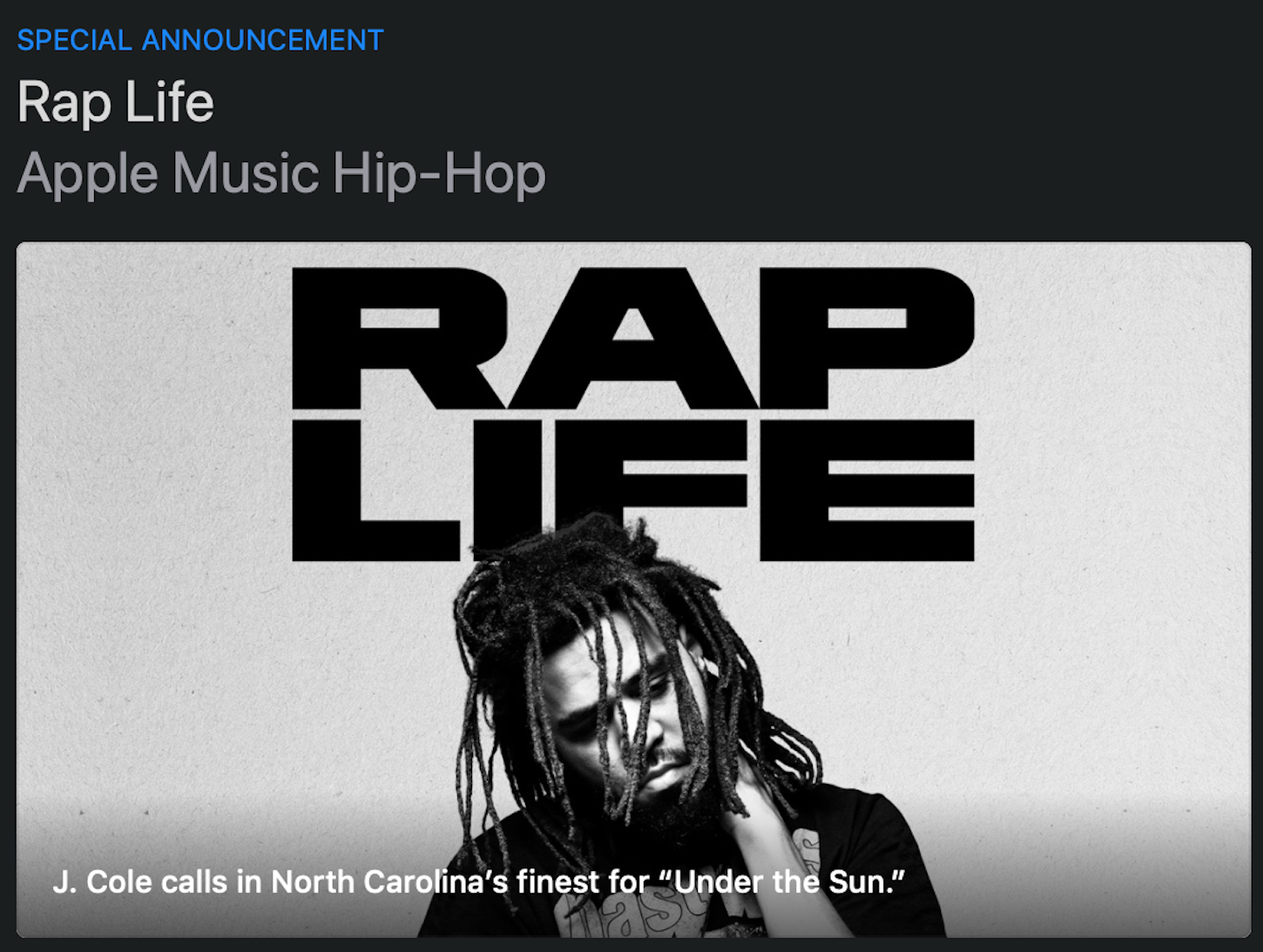 Apple Music rebrands 'The A-List: Hip-Hop' playlist to 'Rap