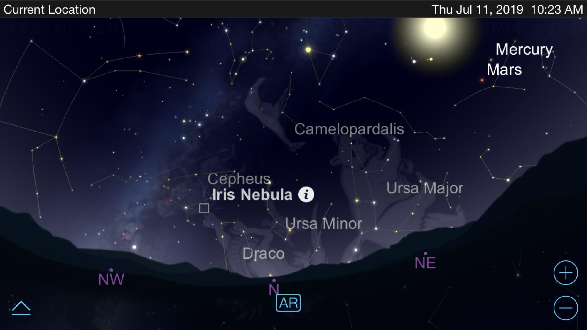 Astronomy apps for iPhone - SkySafari