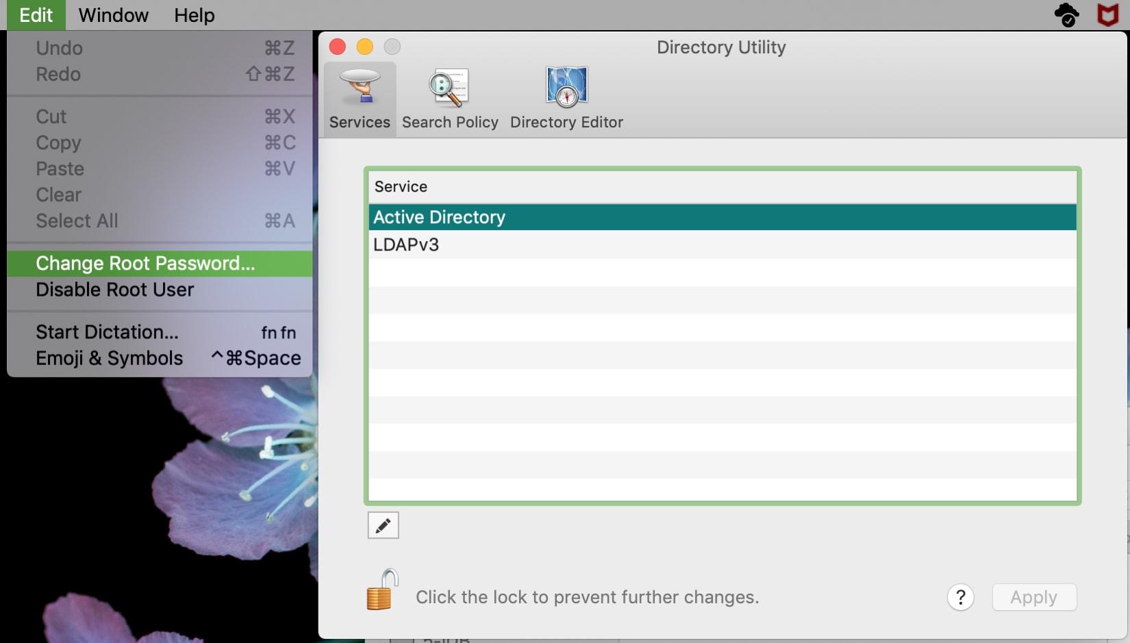 Change Root Password on Mac