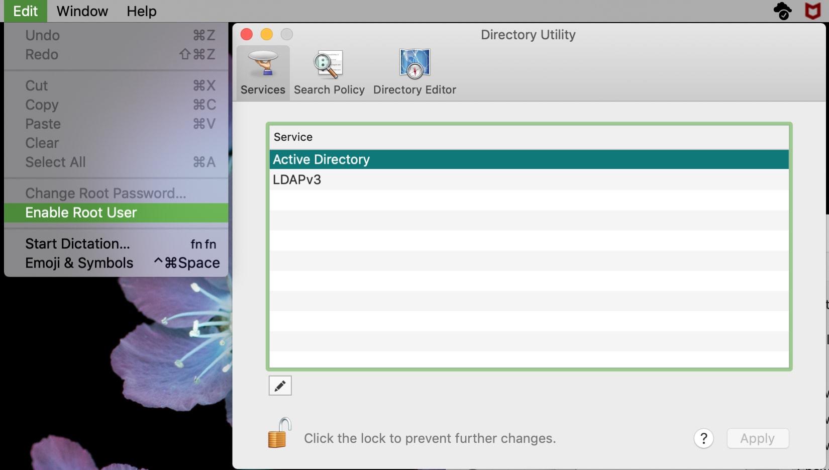 Enable Root User on Mac