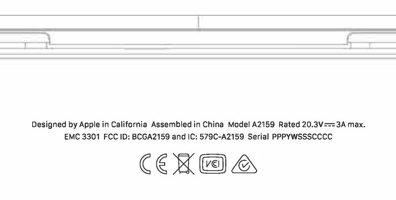 FCC approval for an unreleased MacBook Pro