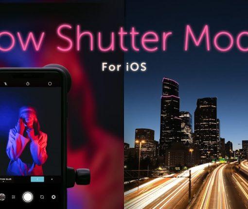 Moment Pro Camera adds Slow Shutter mode