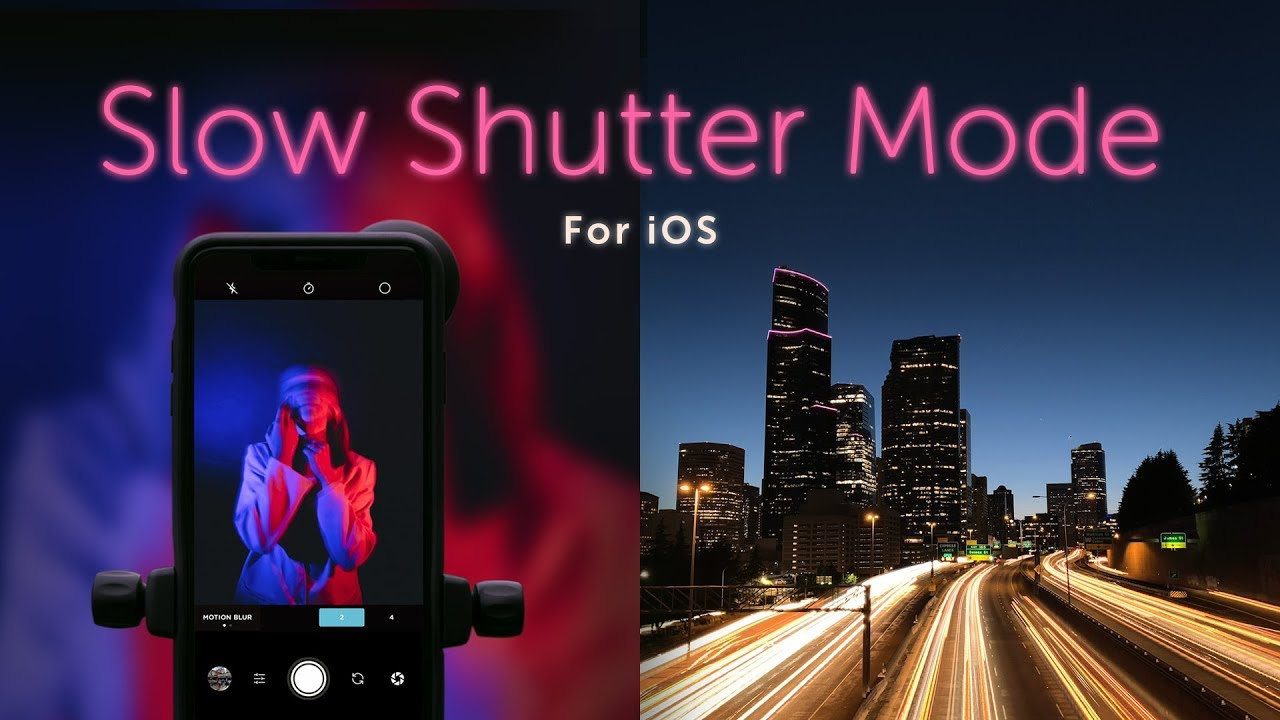Moment Pro Camera adds Slow Shutter mode