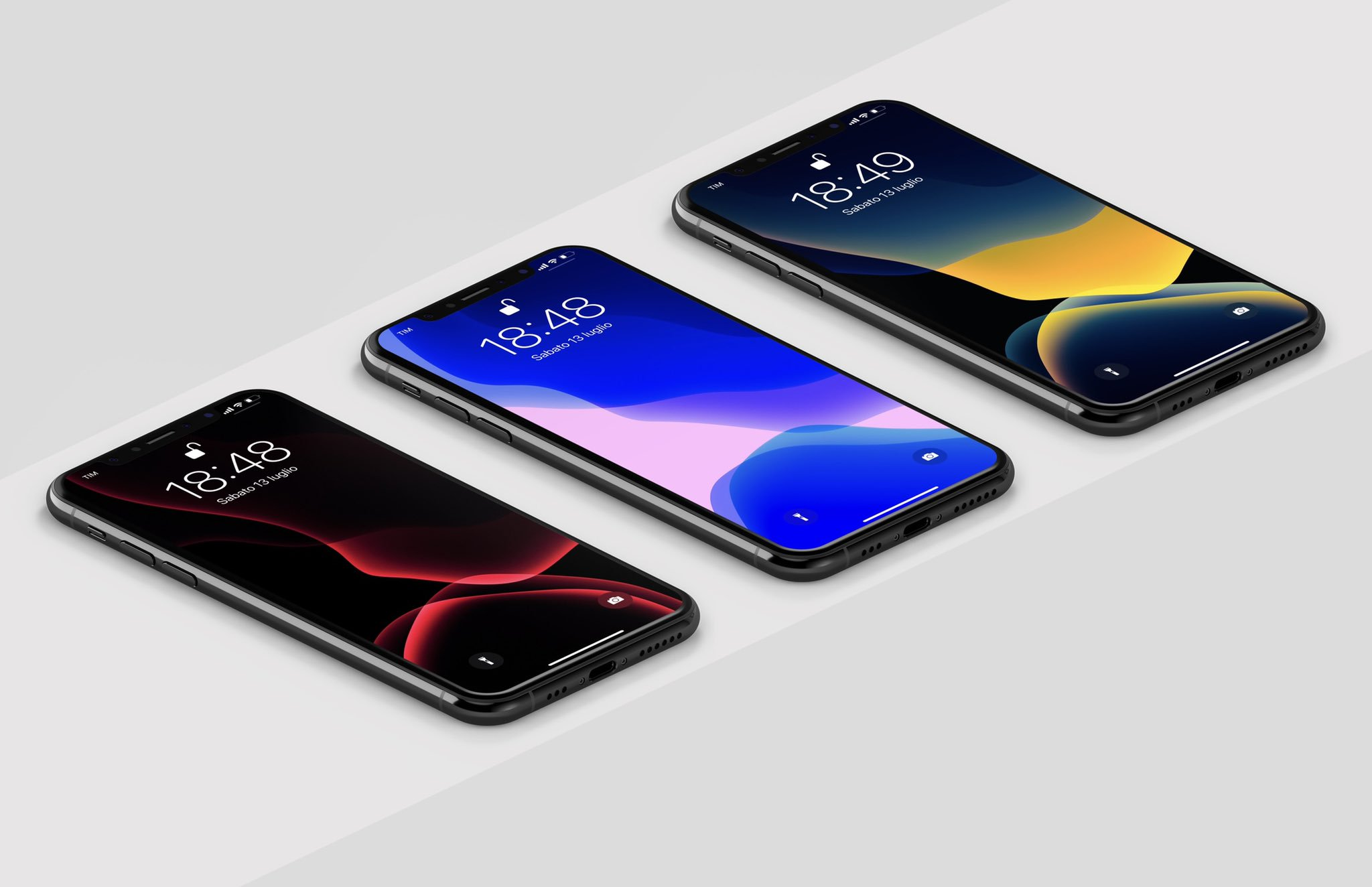Modified IOS 13 Wallpapers For IPhone And IPad