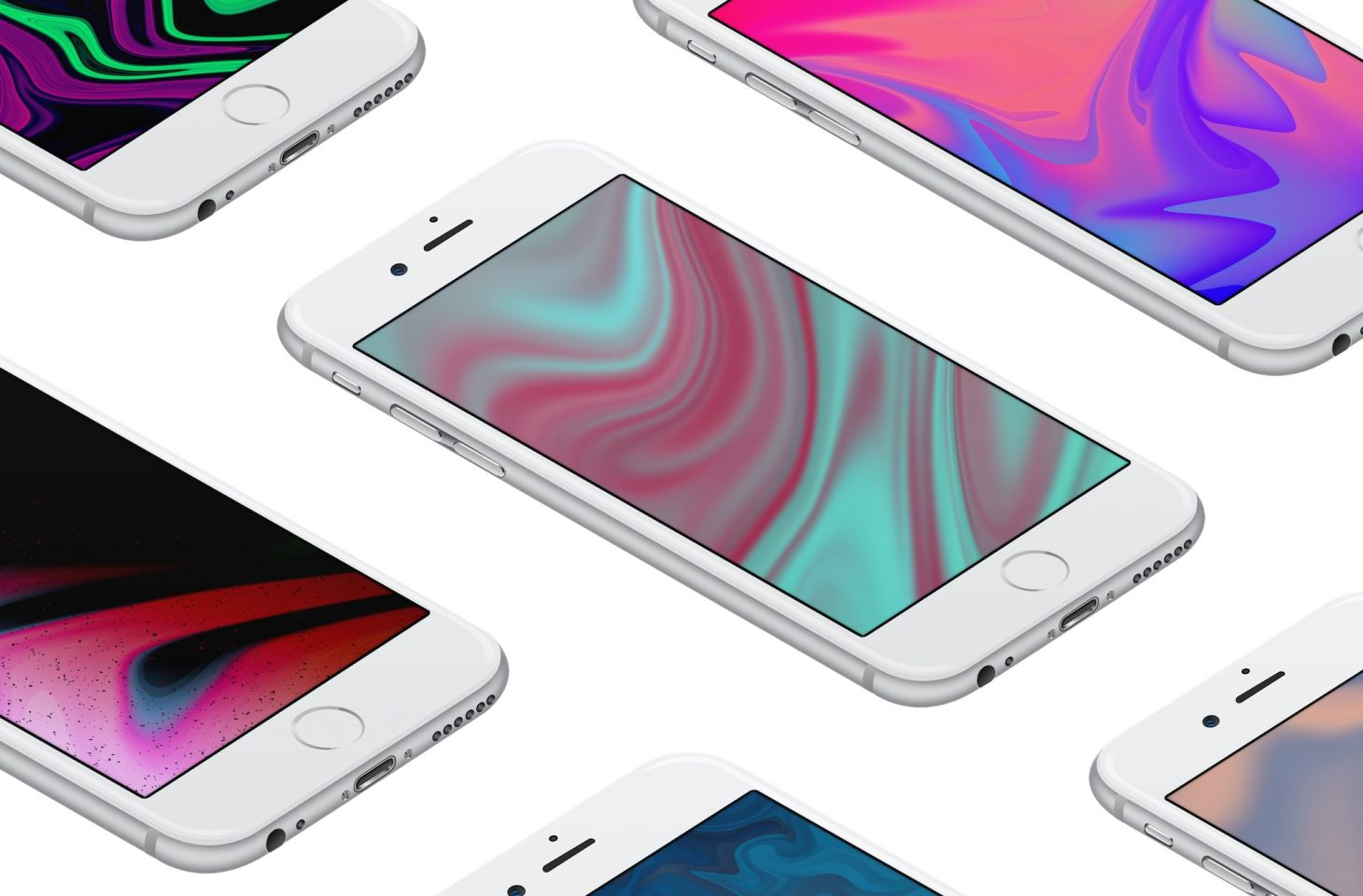 3aed40ae629 Wallpapers of the week: marbleized