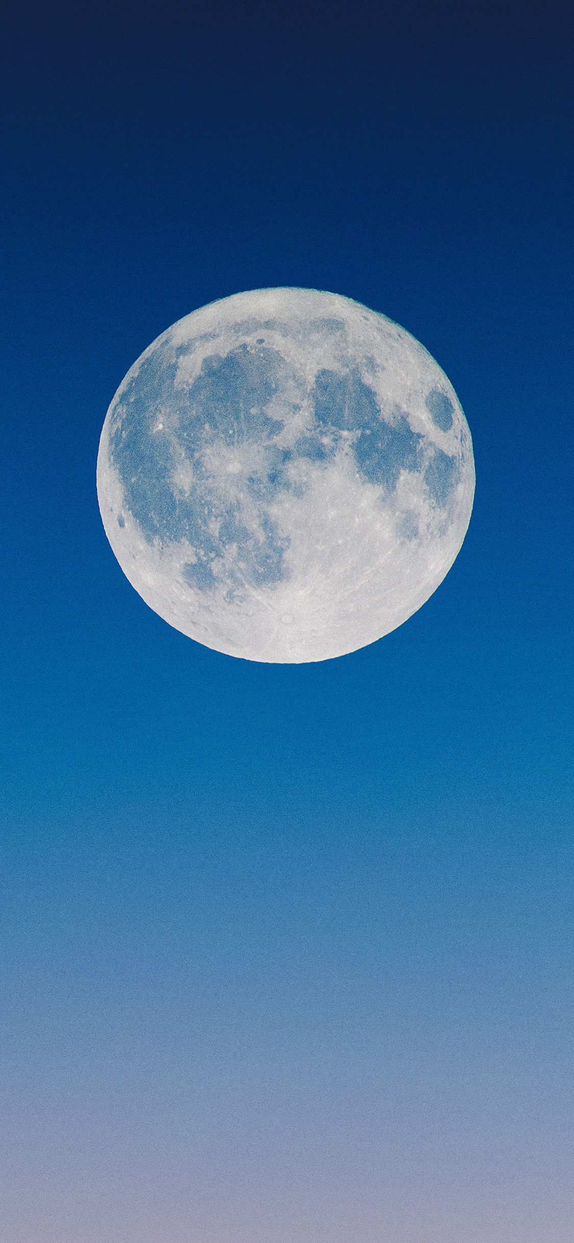 moon front center iphone wallpaper