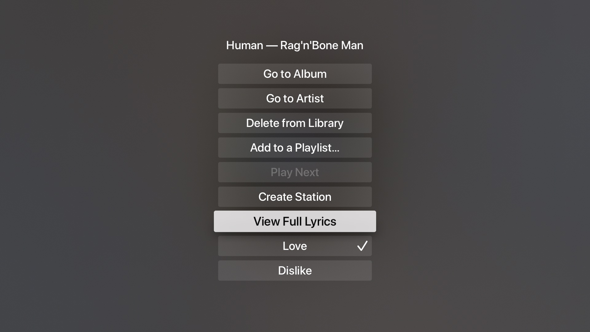 karaoke Apple TV