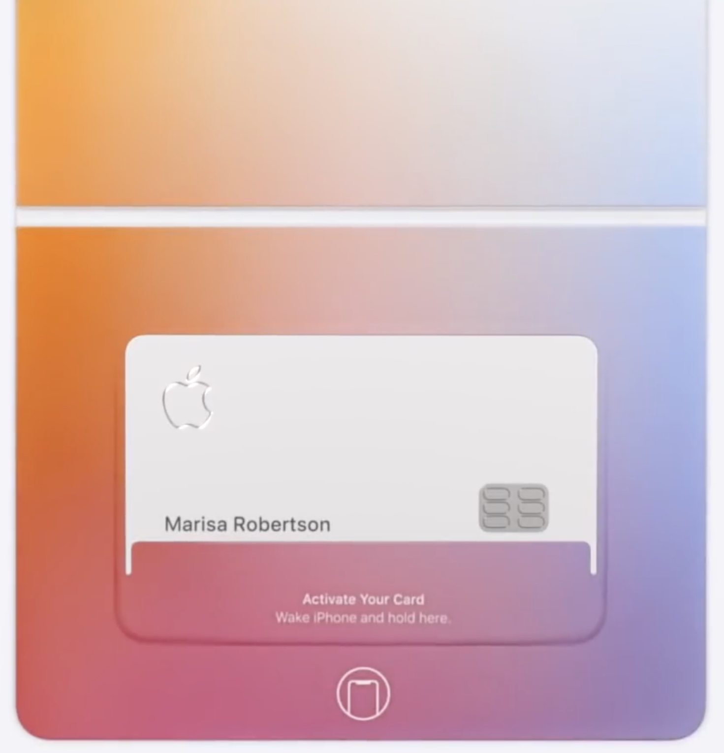 replacement titanium Apple Card