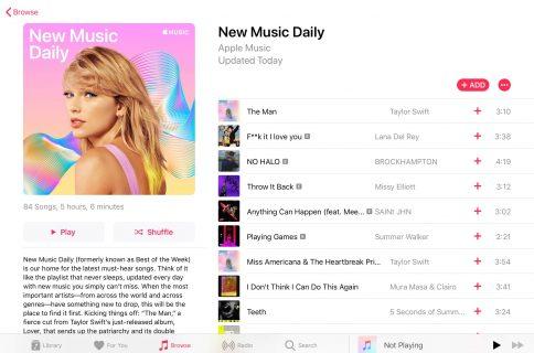 Apple Music now available in an official web app