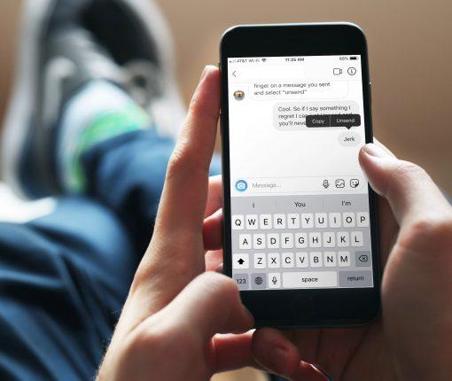 Delete Private Message Instagram iPhone
