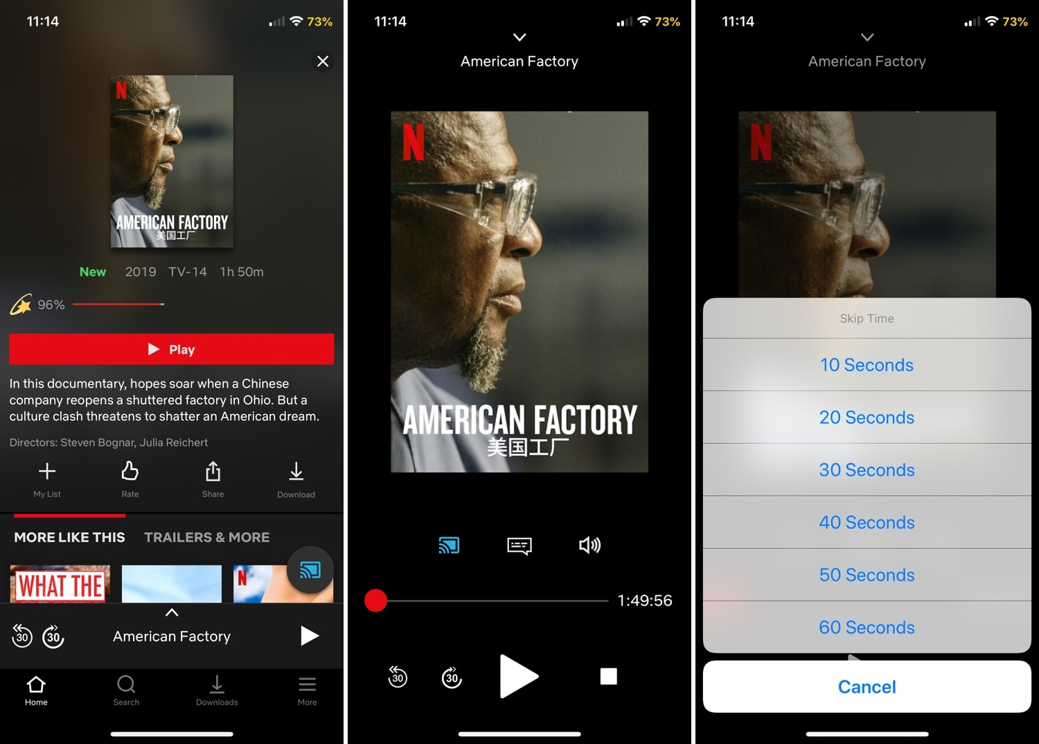 FlixRatings for Netflix augments the Netflix app's rating system