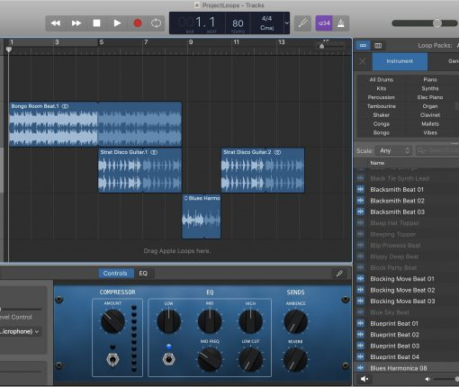 GarageBand Apple Loops Mac