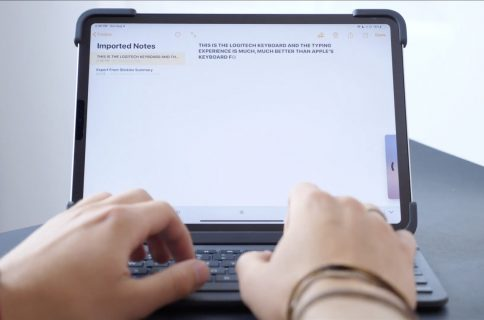 Video comparison: Brydge Pro vs  Apple Smart Keyboard Folio