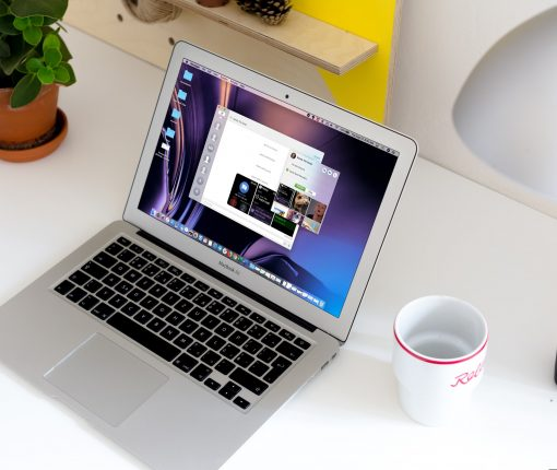 Messages Details on MacBook Screen