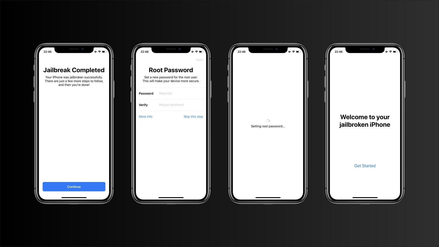New concept reimagines the process of changing a jailbroken