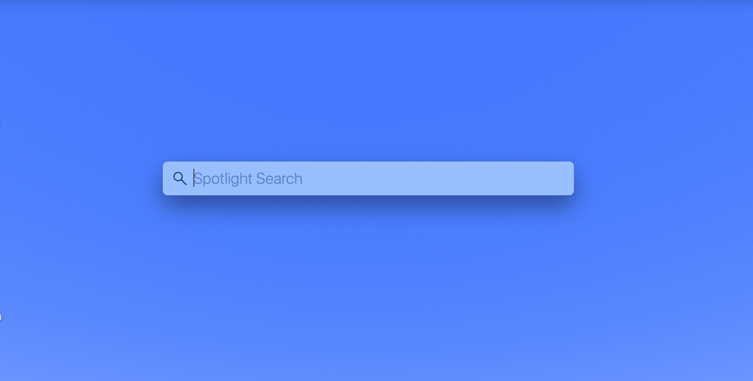 Spotlight Search Mac