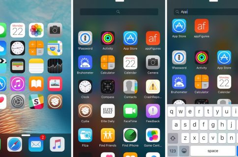 Five Icon Dock lets you exceed your iPhone Dock's four icon