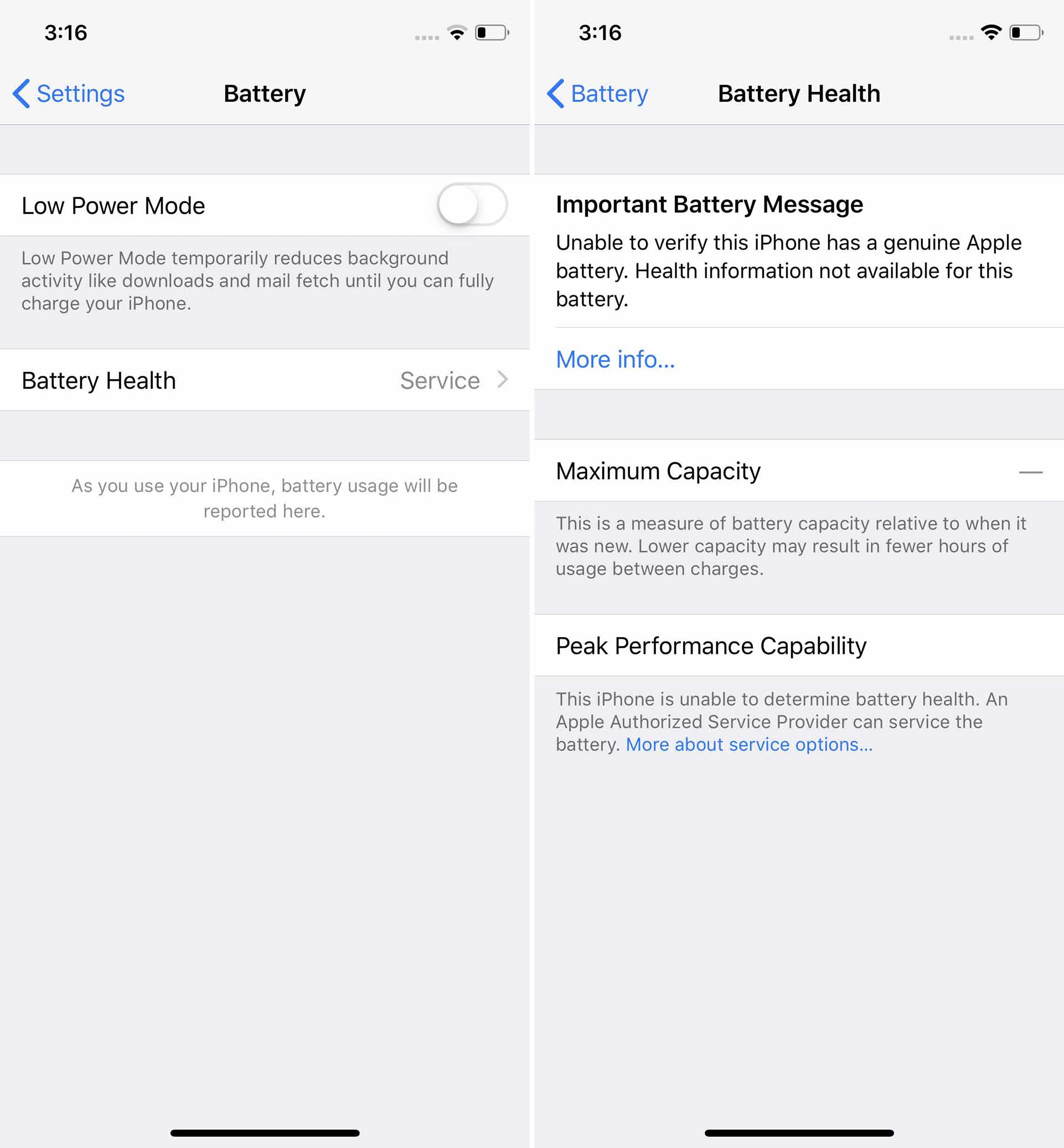 Apple is 'locking' some iPhone batteries in an attempt to discourage