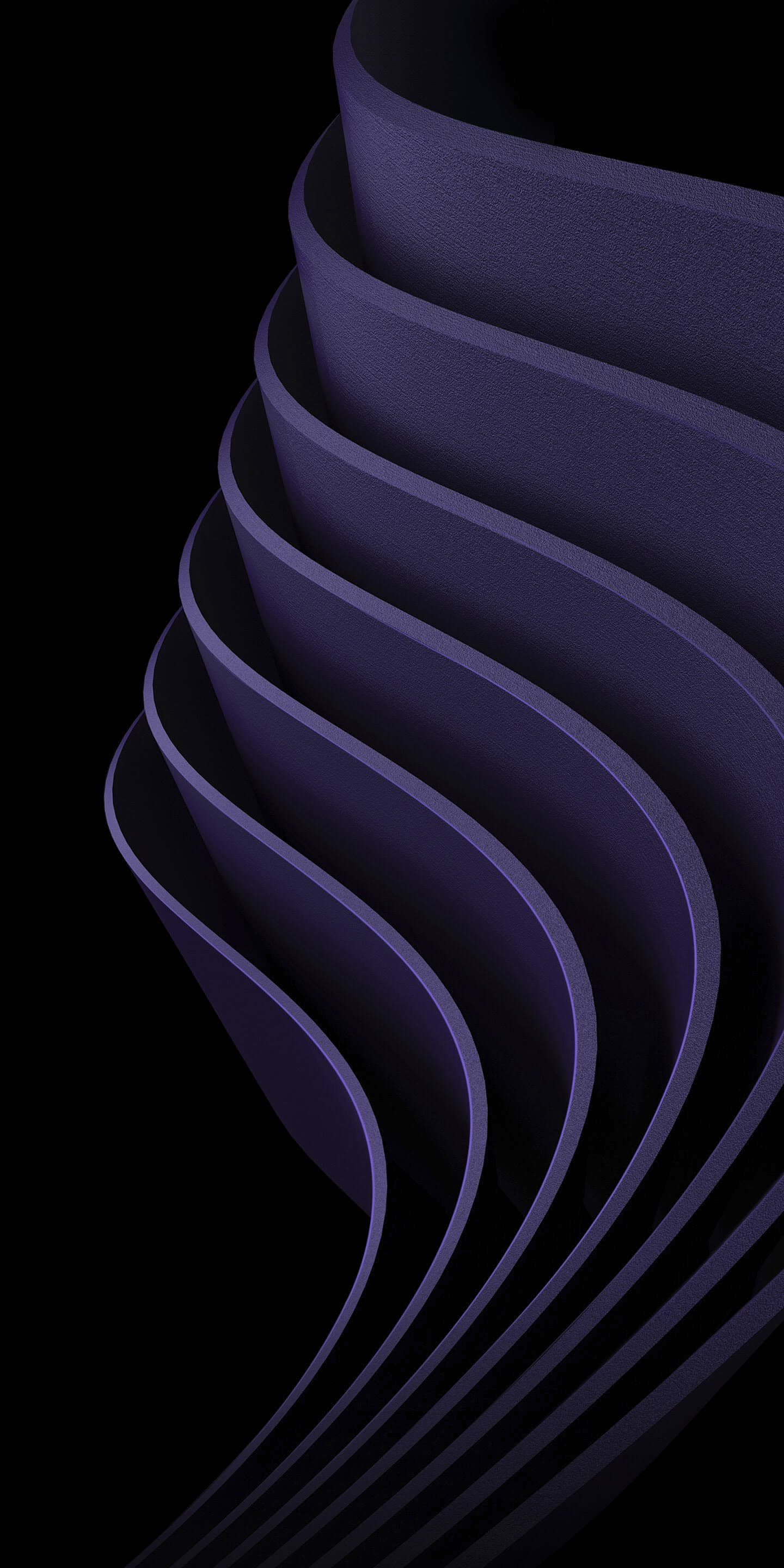iphone oled wallpaper idownloadblog purple ridges
