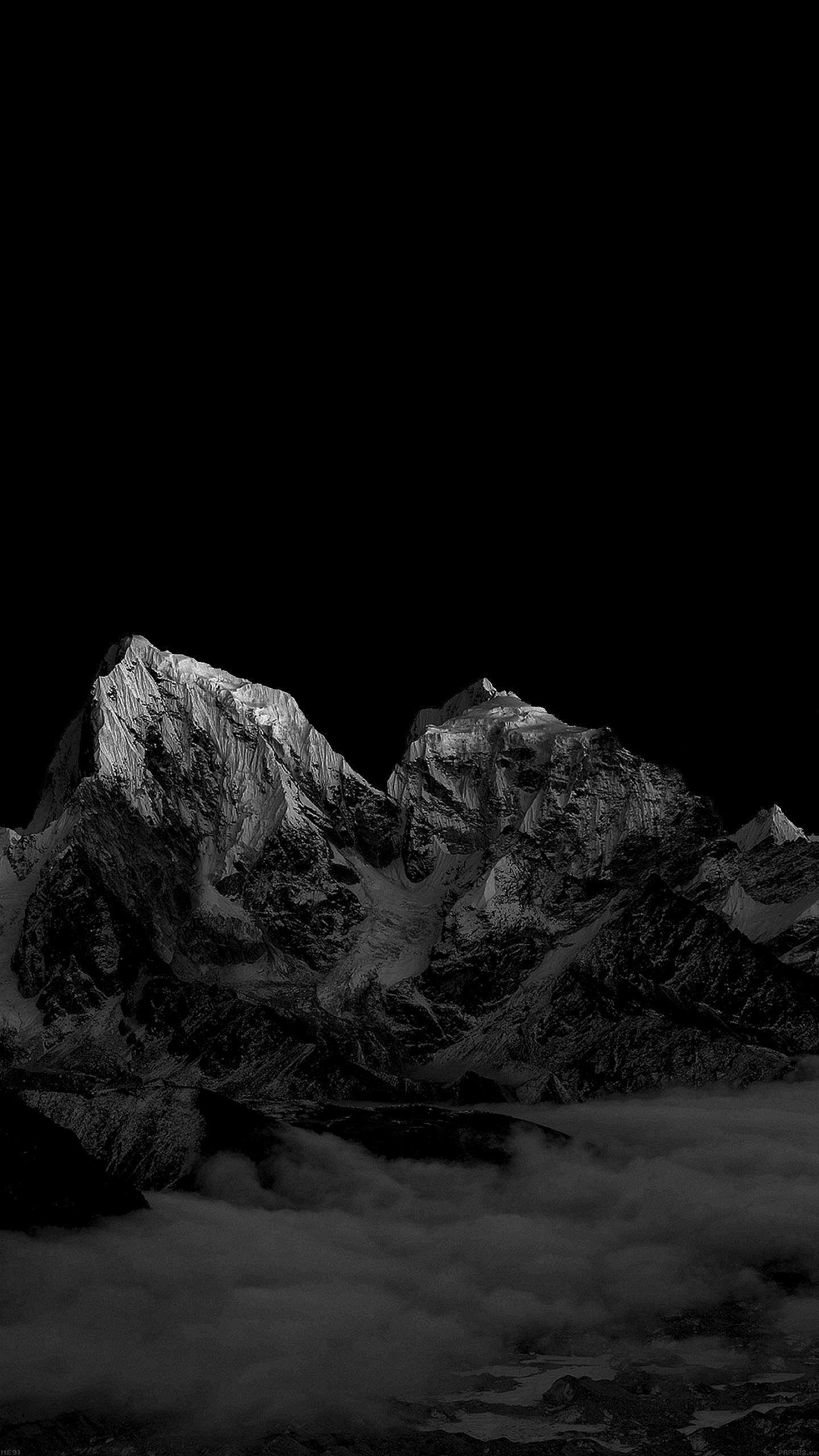 iphone oled wallpaper idownloadblog snow mountains