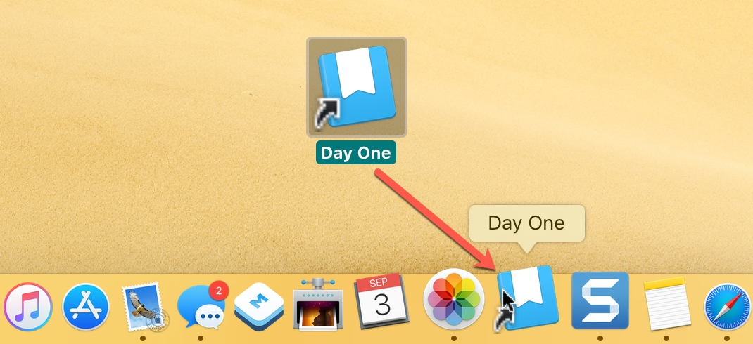 Add App to Dock Mac